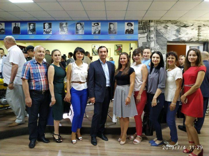 Міграційна служба Донеччина прийняла участь у відкритті музею історії органів внутрішніх справ Донецької області