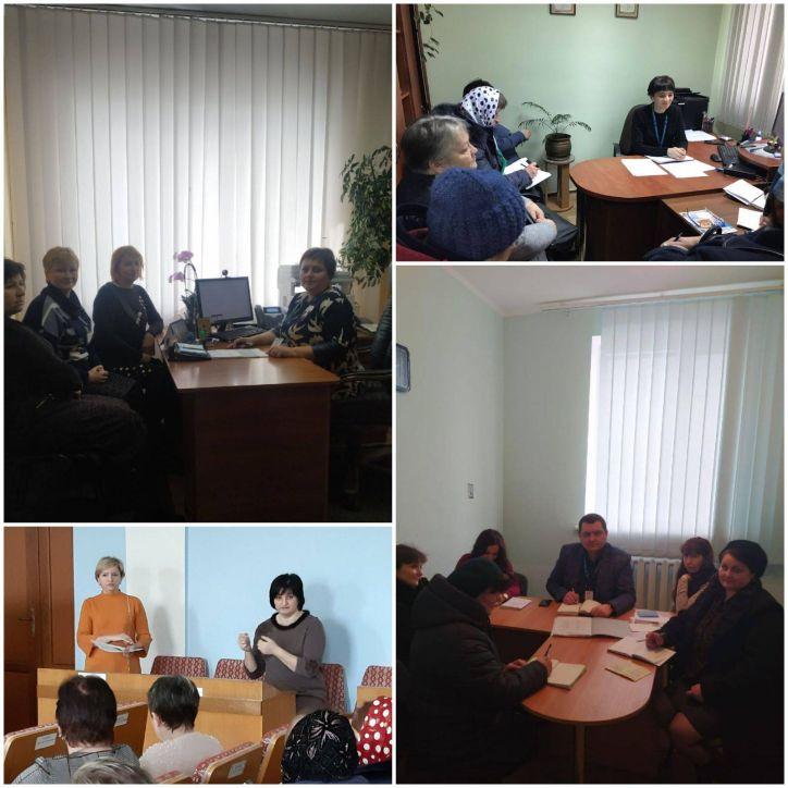 Керівники 4-х територіальних підрозділів УДМС Хмельниччини провели робочі зустрічі із представниками органів реєстрації та ЦНАП