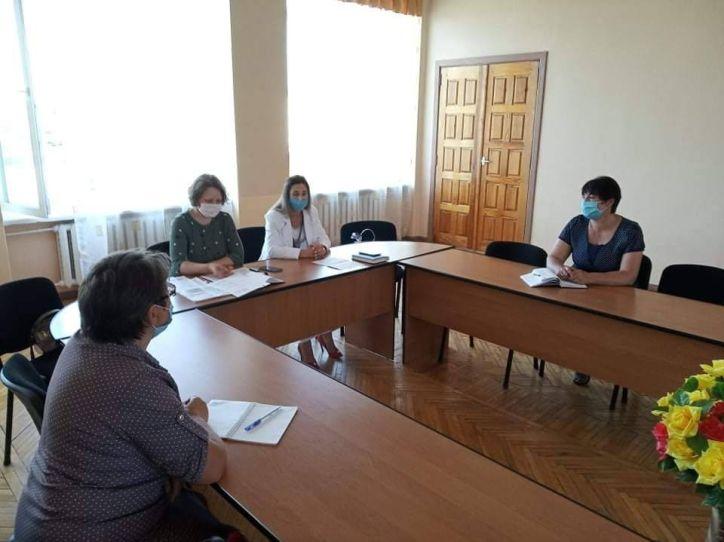 Семінар-нарада зі спеціалістами органів реєстрації Корюківського району