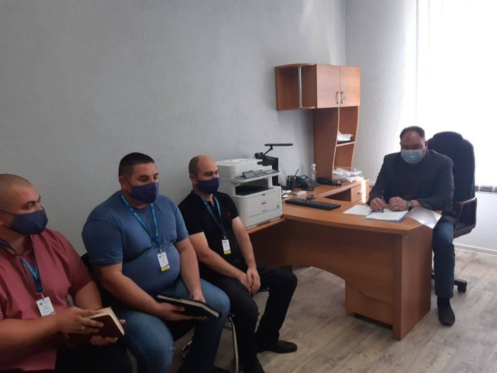 Керівник Міграційної служби Черкаської області провів координаційну нараду в Умані