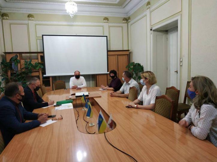 На Буковині відбулася робоча нарада з представниками ВИШів