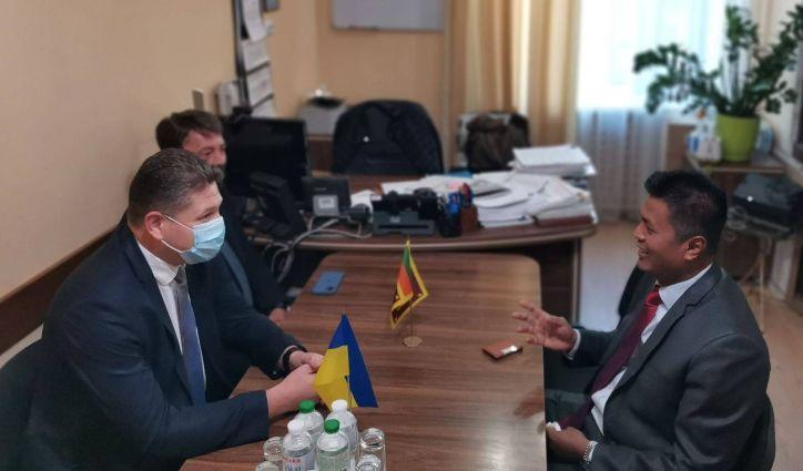 У ДМС відбулася зустріч із представниками Посольства Республіки Шрі-Ланка в Турецькій Республіці (за сумісництвом в Україні та Грузії)